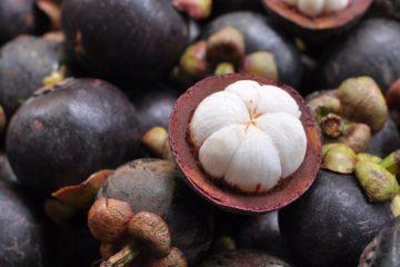 Mangostin Frucht